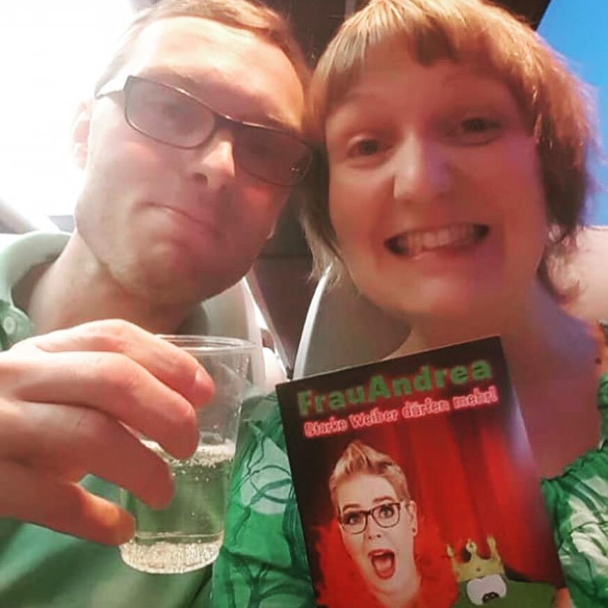 Meine treuesten Fans: Anja und Jan